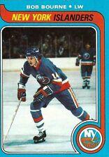 1979-80 Topps #56 Bob Bourne New York Islanders Hockey Card