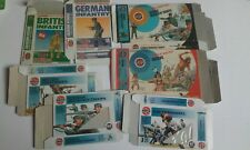 Model kit boxes emty boxes Airfix Various soldier packets