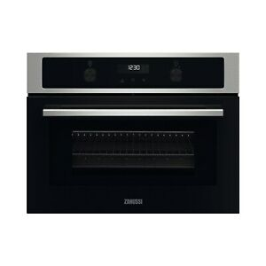Zanussi ZVENM7X1 Built in CombiQuick Compact Microwave Oven - Stainless Steel