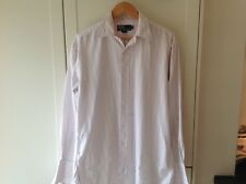 mens ralph lauren shirt Size 15.5 Pink Used