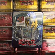 YuGiOh 2007 Collectors Tin Factory Sealed Rainbow Dragon 5 Booster Pack PROMO