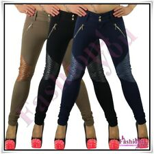 Sexy Women's Skinny Trousers Ladies Pants Casual Treggings Size 8,10,12,14,16 UK