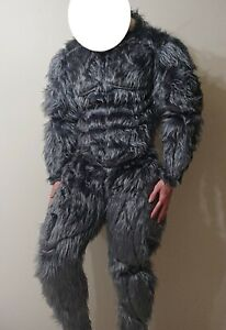 Fursuit, muscle suit costume werewolf, bigfoot, cosplay, halloween, king kong