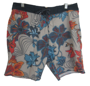 Billabong Platinum X Summer Board Shorts swim trunks sz 32 floral Hawaiian