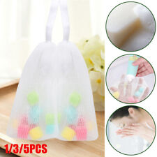 Facial Body Cleansing Soap Foaming Net Bubble Helper Mesh Cleanser Accessories_
