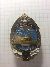 AUTHENTIC BADGE RUSSIA  NAVY SUBMARINE ATOMIC FLEET - ORIGINAL!