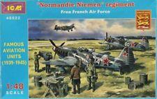 ICM 1:48 Normandie Niemen Regiment Free French Air Force Model Kit #48022U