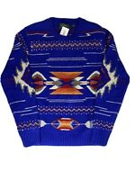 Ralph Lauren Polo Country South Western Wool Sweater Aztec Men's Size Medium M