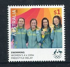 2016 Rio Olympic Games Gold Medal Winner - Women's Swimming 4 x 100m Relay