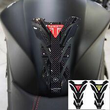 Paraserbatoio gel 3D per moto compatibile Triumph Speed Triple 1050 union jack