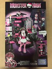 Mega Bloks Monster High Draculaura Vamptastic Room Cbf80 -