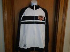 Houston Dynamo MLS Adidas Men's Full Zip Warm Up Track Jacket Size Large NWT