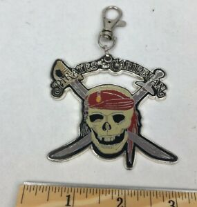 Pirates of the Caribbean Disney Lanyard Medal 2006 Hanging Clip Pin