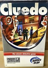 Cluedo Game Travel Games to Go Parker 2005 Unused and most of  Contents Sealed