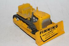 Tootsietoy 1950's Caterpillar Dozer with Advertising Nice Original