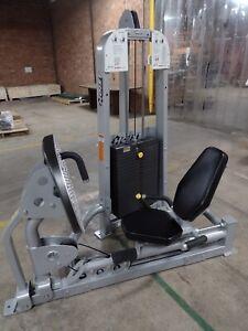 Hoist Leg Press Toe Raise HD 1610 used preowned commercial strength machine