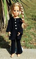 Vintage Crissy Ideal Doll Kerry Blonde Growing Hair 1970 THAT OUTFIT!