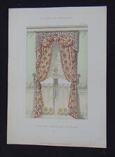 LA TENTURE FRANÇAISE 1904 - Fenêtre fantaisie - ameublement décoration 124