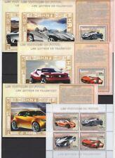 CONGO 2006 - LES VOITURES DU FUTUR - LES MOYENS DE TRANSPORT - CARS AUTO MNH** D