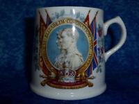 Royal Doulton KING GEORGE VI & ELIZABETH 1937 Coronation Mug Morecambe & Heysham