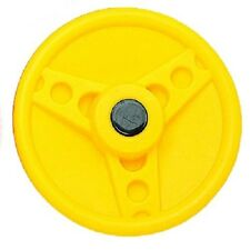 Solid Plastic Steering Wheel YELLOW HEAVY DUTY Play Cubby Accessories Equipment