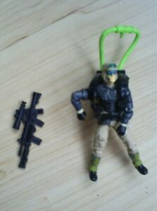 Vintage Hasbro 1990 Action Force  figure with accessories