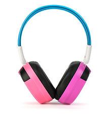 Bravo View IH-04A - KID FRIENDLY Automotive IR Wireless Headphones (Pink/Purple)