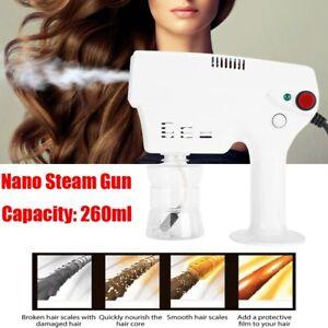 Nano Steam Gun Hair Coloring Dyeing Steamer Humidifer Salon Hair Care Tool New