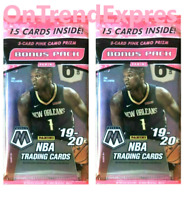 2 x Mosaic 2019 2020 Panini NBA Basketball Sealed Cello Multi Pack ZION Luka