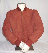 VIntage Windward Leather Jacket Mens 42 Conmatic Zipper