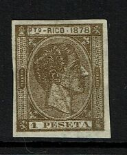 Puerto Rico SC# 22 Proof, Mint No Gum, Nice Margins -  Lot 060417
