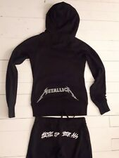 METALLICA Vintage Death Magnetic Tracksuit 2008 Sweater Thrash Metal Slayer LP M