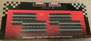 CARRERA EXCLUSIV EVOLUTION 4 STANDARD STRAIGHT TRACK 20509 IN BOX