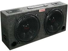 """XXX KIC80 Dual 8"""" 250 Watt Car Subwoofer Box w/ 5"""" Tweeters"""