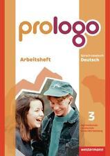 Buch Prologo 3 Schülerband Hauptschule Baden-Württemberg von Westermann