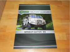 Achleitner Speedfighter 55 Military Vehicles 2016 Brochure Prospekt Katalog