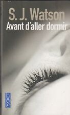 S.J.Watson - Avant d'aller dormir - Prix Polar SNCF 2012.