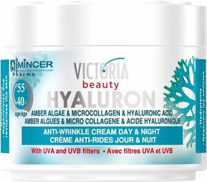 ANTI WRINKLE DAY NIGHT FACE CREAM FOR MATURE SKIN 50ML HYALURON MICROCOLLAGEN