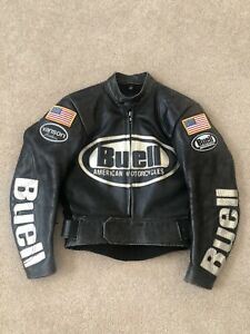 Buell Vanson Leather Jacket Womens Small