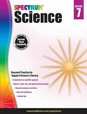 New ~ Spectrum: Spectrum Science, Grade 7 (2015, Paperback)