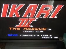 Ikari Warriors The Rescue Jamma Pcb