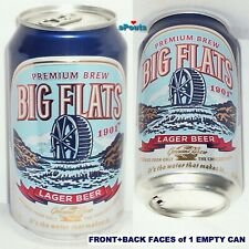 ROCHESTER,NEW YORK CRAFT BEER CAN BIG FLAT MICRO BREW-MASTER CHOICE NY WATERMILL