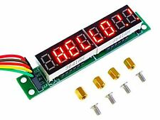 Hobby Components MAX7219 8 Digit Seven Segment Display Module