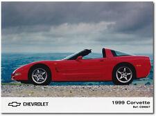 Chevrolet Corvette Press Release Photograph. 1999