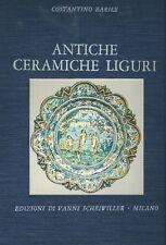 BARILE Costantino, Antiche ceramiche liguri. Maioliche di Albisola