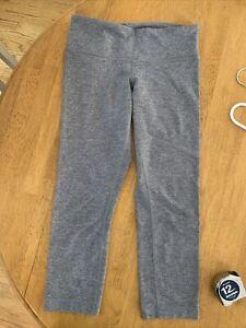 Women's Gray Lululemon Leggings - Size 6