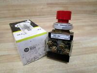 Allen Bradley 800H-BK6A Switch Push Button 800HBK6A Series B