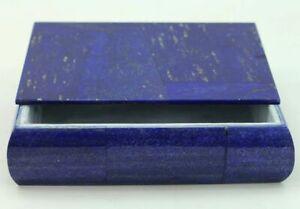 753 Gm High Quality Lapis Lazuli Jewellery Box from Badakhsan Afghanistan