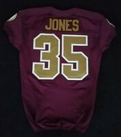 #35 David Jones of Redskins NFL Locker Room Game Issued Alternate Jersey