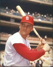 Roger Maris St. Louis Cardinals 8x10 With Toploader